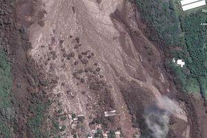 Kinh hoàng thảm họa núi lửa Guatemala khi nhìn từ vệ tinh