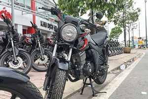 Xe môtô giá rẻ Honda CB150 Verza hơn 40 triệu ở Sài Gòn