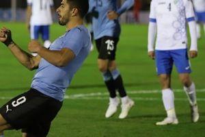 Giao hữu tiền World Cup 2018, Uruguay vs Uzbekistan: Suarez lập công