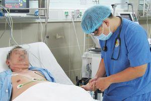 Cứu sống bệnh nhân bị cục máu đông gây tắc phổi