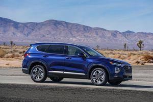 Hyundai Santa Fe 2019 chính thức đi vào sản xuất