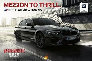 BMW M5 Performance xuất hiện nổi bật trong 'Nhiệm vụ bất khả thi' mới