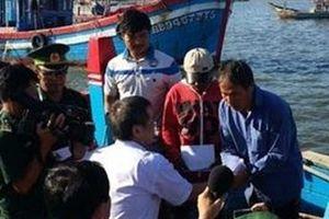 Hội nghề cá báo cáo vụ ngư dân bị tàu TQ giữ