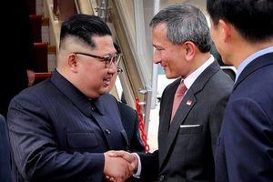 Hình ảnh nhà lãnh đạo Kim Jong-un và đoàn Triều Tiên tại Singapore