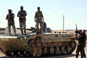 Quân đội Syria ráo riết truy đuổi IS ở sa mạc Sweida