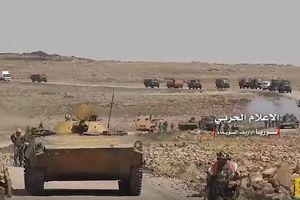 Quân đội Syria tập trung binh lực giải quyết IS tại Suwayda