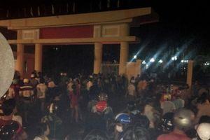 Tụ tập quá khích ở Bình Thuận: Sự thật thông tin 102 người bị bắt, 10 xe máy bị đốt