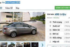 Giảm 'sốc' 80 triệu, chiếc ô tô Ford 4 chỗ này hiện giá chỉ 490 triệu tại Việt Nam