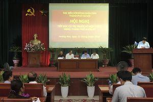 Cử tri quận Hoàng Mai kiến nghị HĐND TP nhiều vấn đề dân sinh