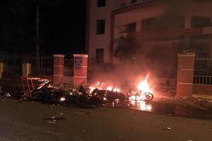 Tạm giữ 102 đối tượng quá khích đập phá các trụ sở cơ quan tỉnh Bình Thuận