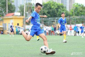 Highlight: TN TP Vinh (xanh) - TN Hưng Nguyên (tím)