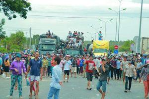 Giao thông qua Bình Thuận thông suốt sau nhiều giờ bị chặn
