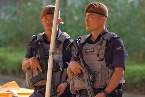 An ninh dày đặc bảo vệ khách sạn nơi Kim Jong Un lưu trú