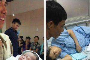 Giọt nước mắt của người đàn ông 45 tuổi lần đầu được làm bố