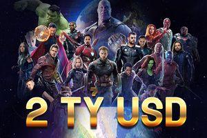 'Avengers: Infinity War' khiến Marvel 'nở mày nở mặt' khi chính thức mang về 2 tỉ USD doanh thu toàn cầu