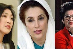 Những gương mặt nữ nổi tiếng trên chính trường châu Á