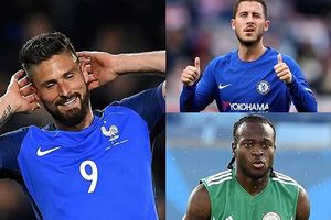 Hazard, Giroud nổi bật trong danh sách 14 cầu thủ Chelsea dự World Cup