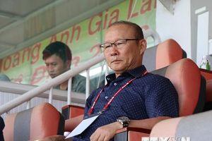 Ông Park Hang-seo dự khán trận HAGL thua ngược Quảng Nam