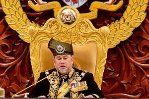 Quốc vương Malaysia tự nguyện giảm 10% lương để ủng hộ kinh tế nước nhà