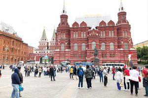 Trước khai mạc World Cup 2018: Đêm trắng Moscow
