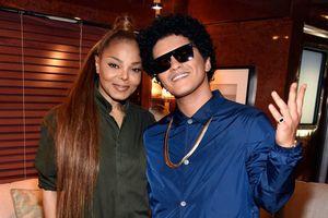 Janet Jackson 'cầu cứu' Bruno Mars: Liệu có trở lại ánh hào quang xưa?