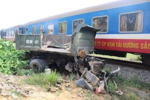 Thái Nguyên: Bị tàu hỏa tông, người đàn ông bị cán lìa đầu