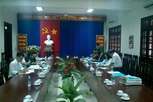 Ban CHQS TANDTC kiểm tra công tác quốc phòng tại TAND tỉnh Tây Ninh
