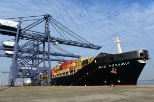 Cảng SSIT đón tàu container đầu tiên