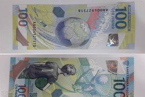 Giá 'cắt cổ', tờ 100 rúp Nga kỷ niệm World Cup 2018 vẫn được nhiều người săn lùng