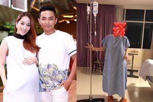 Hé lộ hình ảnh đầu tiên của Khánh Thi sau khi 'vượt cạn' an toàn