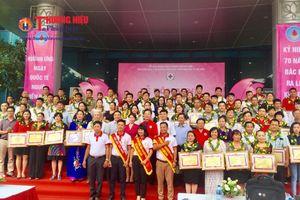 Lễ tôn vinh Người hiến máu tiêu biểu Thủ đô năm 2018