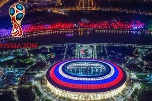 Tưng bừng Lễ khai mạc World Cup 2018, ĐT Nga giành chiến thắng 5-0 trận mở màn