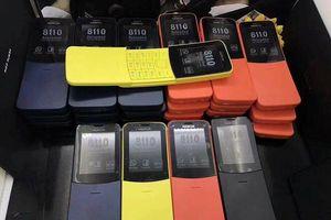Nokia 8110 4G hàng giả tại Việt Nam, rẻ hơn nhiều, có thêm màu cam