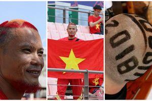 CĐV Việt Nam sở hữu mái tóc độc đáo đi Nga xem World Cup