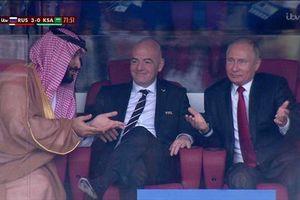 Tổng thống Putin kinh ngạc chứng kiến chiến thắng