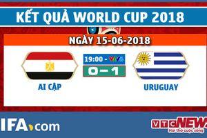 Kết quả Ai Cập vs Uruguay, Link xem bảng A bóng đá World Cup 2018 hôm nay