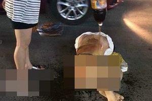 Triệu tập 4 người trong vụ cô gái bị lột quần áo, dội nước mắm