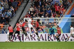 Uruguay 1-0 Ai Cập: Trung vệ ghi bàn phút 89