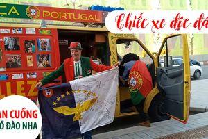 Chiếc xe 'cực ngầu' của fan Bồ Đào Nha
