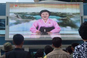 Tổng thống Trump 'khen' phát thanh viên nổi tiếng của Triều Tiên