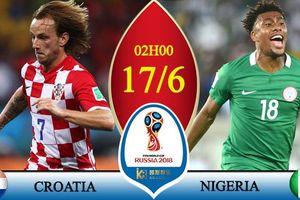 Kèo Croatia vs Nigeria: Có mưa bàn thắng