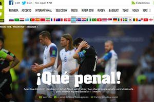 Báo Argentina gọi Messi là tội đồ, lo tuyển Argentina bị loại ngay từ vòng bảng
