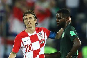Vừa bắn hạ 'đại bàng' Nigeria, đội trưởng của Croatia gửi lời thách đấu tới Messi