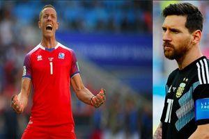 Thủ môn Iceland tiết lộ chiêu 'bắt bài' quả 11m của Messi