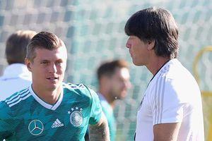 Đức - Mexico: Chờ Kroos tỏa sáng như đồng đội Luka Modric