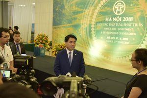 Chủ tịch Nguyễn Đức Chung: Hà Nội tạo mọi điều kiện thuận lợi cho các nhà đầu tư