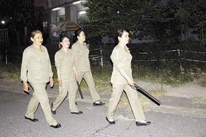 Đội bảo vệ tổ dân phố 'tóc dài'