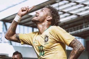 Neymar - người nắm giữ trọng trách đưa Brazil lên đỉnh