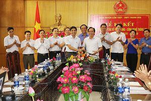 VNPT Thanh Hóa và UBND huyện Cẩm Thủy ký kết hợp tác VT-CNTT giai đoạn 2018-2020
