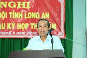 Phó Thủ tướng Trương Hòa Bình: Chống tham nhũng là xu thế không thể thay đổi